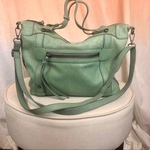 Super rare green Kooba satchel